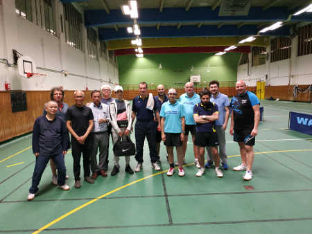 Equipe Seniors Tennis de table - J7