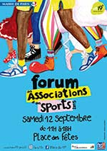 Forum des associations et des sports 2015 - Paris19